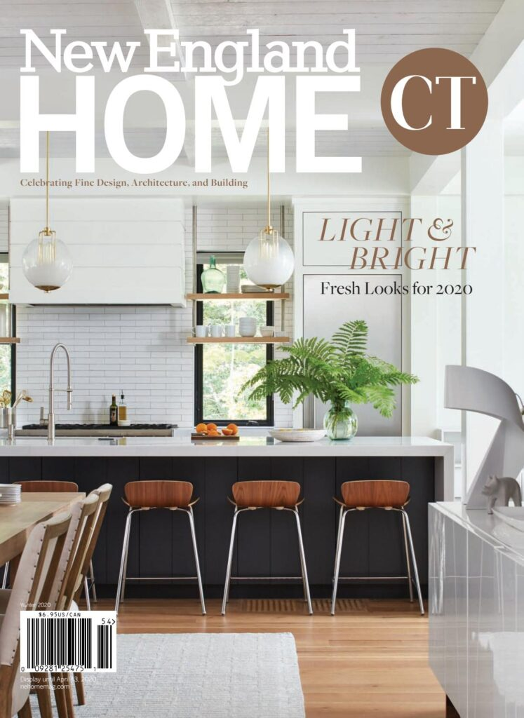 Cover of New England Home Magazine in Connecticut