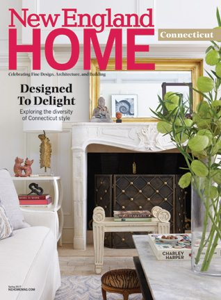 cover of the connecticut issue of new england home magazine