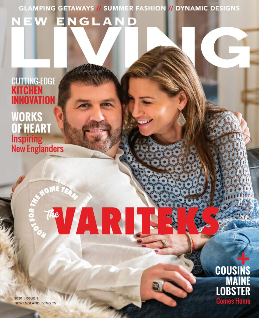 cover of the summer 2020 edition of new england living