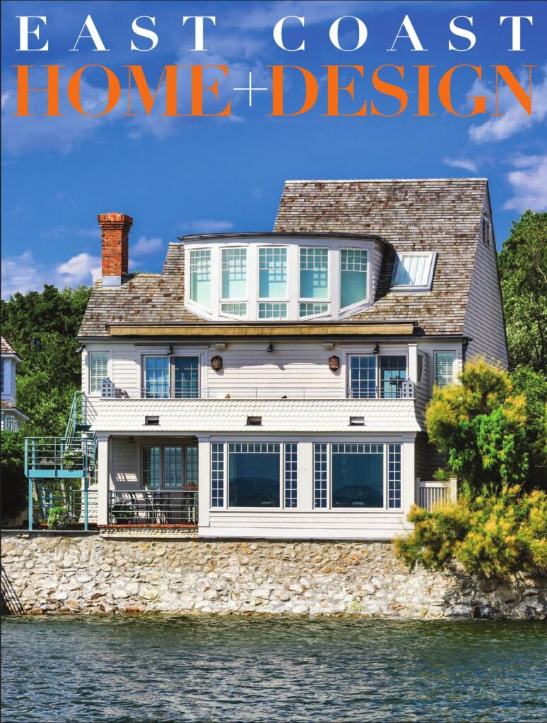 cover of east coast home and design magazine