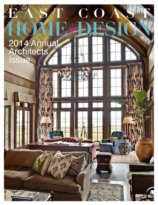 Cover of the 2014 annual architects issue of east coast home design magazine