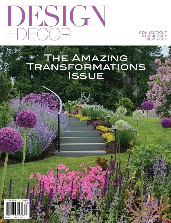 the amazing transformations issue of design and decor, the connecticut, new jersey and new york volume